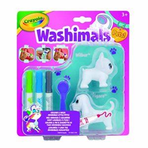 CRAYOLA 74-7321-E-000 Washimals Super Set Multicolore